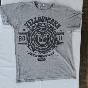 Yellowcard 2011 shirt